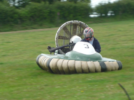 Hovercraft in Action